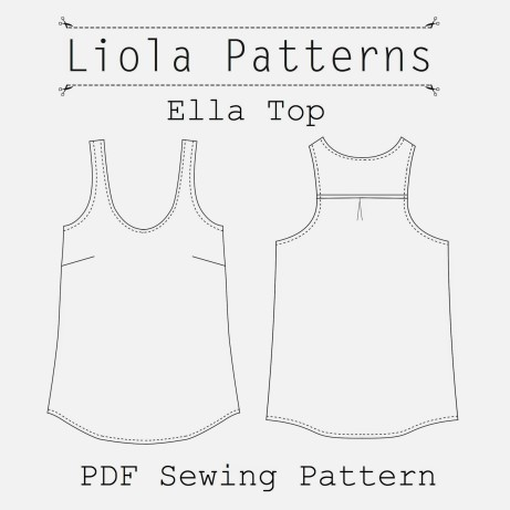 Ella Top by Liola Designs