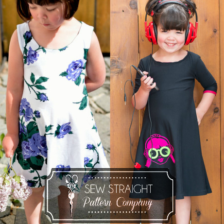 Uptown Downtown Dress by Sew Straight Pattern Company