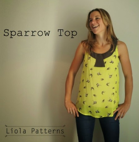 Sparrow Top Pic by Liola Designs