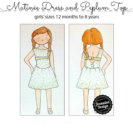 Matinee Dress by Jennuine Design