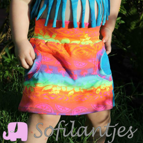 Liv Skirt - Free Pattern by sofilantjes