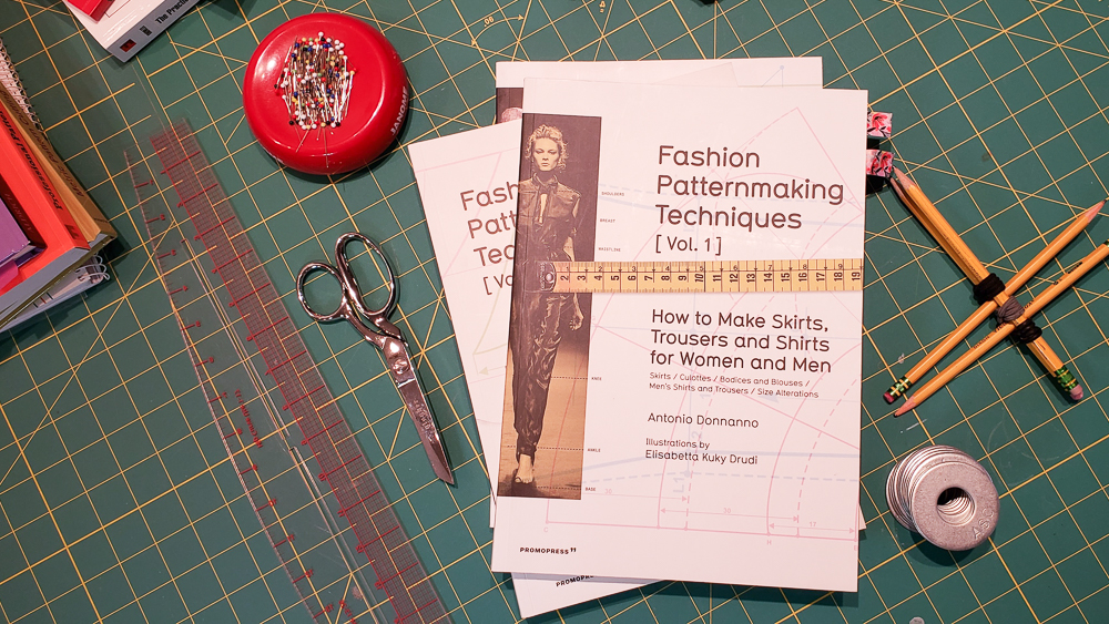 Fashion Patternmaking Techniques Vol. 1 - Antonio Donnanno